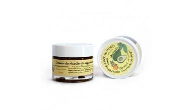 Crema de aceite de aguacate con esencia natural de naranja
